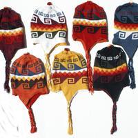 Alpaca colored hats