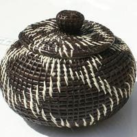 Toquilla straw basket