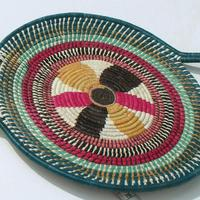 Toquilla straw plate